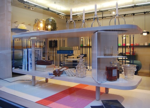 Vitrine Maison M Paris | Grand Club Sandowich, designer C. de Moulins
