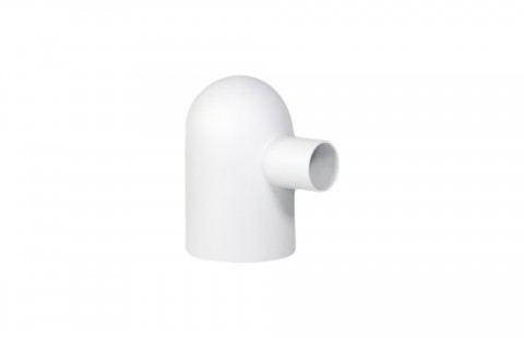 Tirelire design Petit Glouton blanc en Porcelaine de Limoges